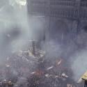 Die gefüllten Straßen Paris aus dem Pressematerial...