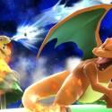Glurak ist diesmal ohne Pokémon-Trainer unterwegs.