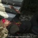 GTA 5 auf der PS3: Und noch einmal der geschlagene am Boden.