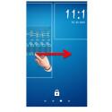 Hast du mehrere Widgets aktiviert, kannst du per Fingerwisch zwischen den Widgets wechseln.