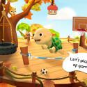 """Das Kinderspiel """"Dr. Panda & Totos Baumhaus"""" bringt den beliebten Pandabären und die Schildkröte Toto auf dein Smartphone. Spiele und koche mit Toto - er zeigt dir, wie er sich fühlt. 2,49 Euro gespart."""