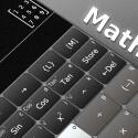 """Einen leistungsfähigen, grafischen Taschenrechner erhältst du mit """"MathsApp Graphing Calculator"""" auf dein Smartphone oder den Table-PC. 4,99 Euro gespart."""