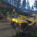 Ein Off-Road-Rennen in der CurrentGen-Version von GTA Online.