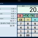 """""""Office Calculator/Taschenrechner Pro"""" ist ein Bürorechner mit integriertem Tippstreifen. So lassen sich Berechnungen leichter nachprüfen und Tippfehler schneller herausfinden. Außerdem kannst du Notizen auf dem Kontrollstreifen hinzufügen oder Änderungen vornehmen. 1,59 Euro gespart."""