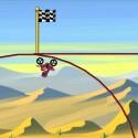 """Ein physikbasiertes Motorradrennen im Zeichentrickstil inklusive verrückter Loopings erlebst du mit """"Bike Race"""". 76 Cent gespart."""