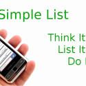 """""""Simple-List Pro"""" hilft dir bei der Organisation deiner Aufgaben, indem du mit dem Tool beliebige Listen erstellst. Das können To-do-Listen, Einkaufs- oder Checklisten sein. Per Alarm kannst du dich an fällige Aufgaben erinnern lassen. 1,03 Euro gespart."""