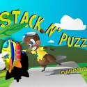 """Stack, der Biber, liebt Puzzles. In der Anwendung """"Stack 'N Puzzles - an Educational Puzzling Adventure for Kids"""" hilfst du dem lustigen Tier dabei, verschiedene Puzzles zu lösen. 1,49 Euro gespart."""