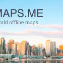 """In über 300 Ländern kannst du mit den """"MAPS.ME Pro, Offline Karten"""" ohne Internetverbindung reisen. Routenplanung und Offline-Suche inklusive. 3,99 Euro gespart."""