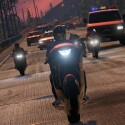 Eine Verfolgungsjagd auf den Highways von Los Santos.