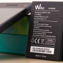 Der Akku des Wiko Rainbow bietet eine Kapazität von 2.000 Milliamperestunden und lässt sich vom Nutzer wechseln.
