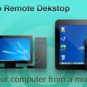 """Die App """"Splashtop Remote Desktop"""" ermöglicht dir, den gesamten Desktop deines PCs oder Mac auf das Smartphone oder Tablet zu streamen. Höre Musik, schaue Filme oder starte Spiele über dein mobiles Gerät. 3,97 Euro gespart."""