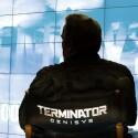 Arnold Schwarzenegger während den Dreharbeiten zu Terminator Genisys. (Paramount Pictures)