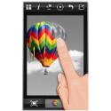 """Mit """"Color Splash FX"""" bearbeitest du deine Bilder. Vorher in Schwarz-Weiß umgewandelte Fotos füllst du an bestimmten Stellen wieder kunstvoll mit Farbe. Mit den zur Verfügung stehenden Hilfsmitteln bearbeitest du diese Effekte pixelgenau mit deinem Finger. 1,49 Euro gespart."""