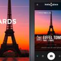"""Die Foto App """"InstaPlace"""" erkennt anhand der GPS-Daten deines Smartphones deinen Standort. Die Daten fügst du in dein Bild ein. Mit 40 verschiedenen Skins verschönerst du deine Aufnahmen und teilst sie mit deinen Freunden per Twitter, Facebook oder Flickr. 1,45 Euro gespart."""