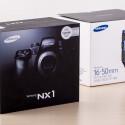 Die gut 2.830 Euro Kombination aus Samsung NX1 und dem 16-50mm-Objektiv der Profi-Linie des südkoreanischen Herstellers.