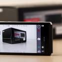 Die Kamera-App ist durchdacht und in Kombination mit dem Objektivring ist Panasonic die Bedienung der CM1 sehr gut gelungen.