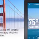 """Mit """"InstaWeather Pro"""" nimmst du ein Foto oder Video auf und blendest aktuelle Wetterinformationen ein. Via Twitter, Facebook, Instagram oder Google+ teilst du die Aufnahmen mit deinen Freunden. 1,45 Euro gespart."""