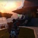 Die neuen Questgeberin Eris Morn findet ihr zu eurer Linken... (Quelle: Screenshot / Activision)