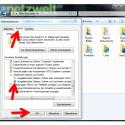 """In den Ordneroptionen wechseln Sie auf die Registerkarte """"Ansicht"""". Scrollen Sie nach unten zum Punkt """"Versteckte Dateien und Ordner"""" und aktivieren Sie den Punkt vor """"Ausgeblendete Dateien, Ordner und Laufwerke anzeigen"""". Bestätigen Sie die Änderung mit einem Klick auf """"OK""""."""