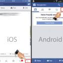 Starte deine Facebook-App. Die Einstellungen rufst du über den Button mit den drei waagerechten Strichen auf.