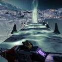 Überquert die Brücke und springt an deren Ende durch das Loch... (Quelle: Screenshot / Activision)