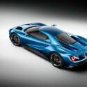 Der Ford GT kommt 2016 in ausgewählten Regionen auf den Markt. Seine aerodynamische Karosserie...