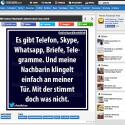Bei echtlustig.com findest du Bilder mit deutschen Texten. Da die Bilderdatenbank mit Tags organisiert ist, kannst du über das Suchfeld passende Fotos oder Witze zu bestimmten Themen wie Facebook, Politik oder Google finden.