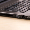 Zwei Mal USB 2.0 und zwei Mal USB 3.0, dazu LAN, HDMI und VGA: Über mangelnde Anschlüsse beschwert sich niemand.