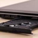 Immer seltener: Der Aldi-Laptop hat einen DVD-Brenner an Bord.