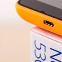 An der Unterseite weist das Microsoft Lumia 530 eine microUSB-Schnittstelle auf.