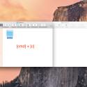 Auch per Tastenkombination kannst du Dateien von einem Speicherort an einen anderen verschieben. Apple nennt das nicht ausschneiden und einfügen, sondern bewegen. Kopiere die zu bewegenden Dateien im Quellordner mit der Tastenkombination [cmd ⌘] + [c].