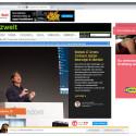 Im Internet Explorer müsst ihr zunächst auf das Zahnrad in der rechten oberen Ecke Klicken.