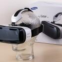 So sieht die Samsung Gear VR aufgesetzt aus... (Quelle: netzwelt)