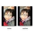 Im Vergleich zum Originalbild siehst du die Veränderungen, welche die App weitestgehend automatisch vorgenommen hat.