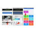 Jetzt kannst du von jeder Webseite über das Teilen-Icon auf den Workflow zugreifen und die aktuelle Webseite per PDF-Datei versenden.