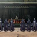 Es ist soweit: die Aufnahmeprüfung in den ehrenhaften Stand der Samurai...