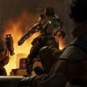 In Evakuierung müsst ihr Zivilisten retten, ehe sie vom Monster gerissen werden. (Quelle: 2K Games)