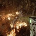 Während eure Teamkollegen das Monster in ein Flammenmeer tauchen könnt ihr aus der Luft für frische Energie sorgen.
