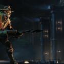 In Evolve sind alle Mittel recht, mit der Harpune könnt ihr das Monster für eine Zeit lang fixieren.