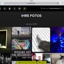 Irista auf dem iPad - Symbole und Optik sehen aus wie auf dem Desktop.