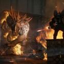 Die Jäger müssen schweres Geschütz auffahren, um dem Monster etwas entgegensetzen zu können. (Quelle: 2K Games)