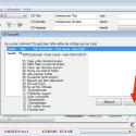 """Die Metadaten-Datenbank im Internet wird abgefragt. Falls mehrere Einträge zu eurer CD gefunden werden, müsst ihr den richtigen Eintrag auswählen und mit einem Klick auf """"OK"""" bestätigen. Beim Überfahren mit der Maus wird eine Titelvorschau angezeigt. So könnt ihr prüfen, welche eingetragenen Metadaten die richtigen sind."""