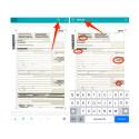 Praktisch ist auch die Suchfunktion innerhalb des Dokuments. Klickt dazu oben rechts auf das Icon mit der Lupe. Danach gebt ihr einen Suchbegriff ein. Alle Stellen mit diesem Suchbegriff innerhalb des Dokuments werden farbig markiert.