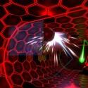 Proton Pulse ist eine Art Arkanoid-Klon im dreidimensionalen Raum - hat schon auf der Oculus Rift Spaß gemacht, funktioniert auch auf der Gear VR. (Quelle: zerotransform)