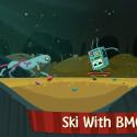 """Viel Spass mit """"Ski Safari Adventure Time"""" aus dem Hause Cartoon Network. Regulär ruft Amazon 78 Cent auf."""
