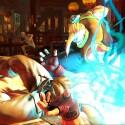 In Street Fighter 5 wird der Schlagabtausch... (Quelle: Capcom)