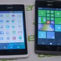 Das Acer Liquid M220 (rechts) kommt in Deutschland als Liquid M220 Plus-Variante auf den Markt.