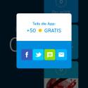 Wenn ihr die App empfehlt, winken 50 Münzen.
