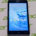 Das Acer Liquid Z520 bietet ein 5-Zoll-Display. Der Bildschirm löst aber nur mit 854 x 480 Pixeln auf.