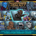 Schließe dich Star-Lord, Rocket, Groot, Gamora und Drax an und erlebe in Marvels Guardians of the Galaxy: The Universal Weapon! und spare 2,67 Euro.
